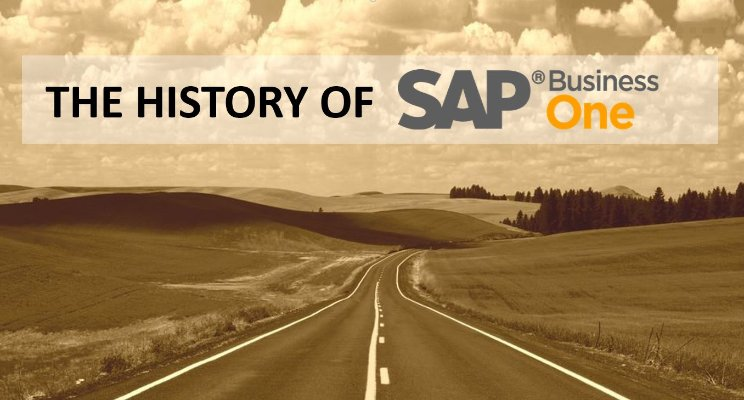 the history of sap business one
