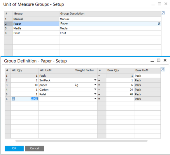 Change-the-Unit-of-Measure-for-Items-Card-in-SAP-Business-One-2