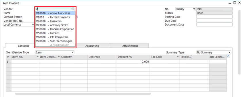 Enable-Suggestions-in-SAP-Business-One-2