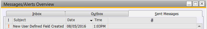 SAP Business One SBO Resend Emails