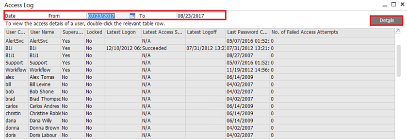 The-Access-log-in-SAP-Business-One-2