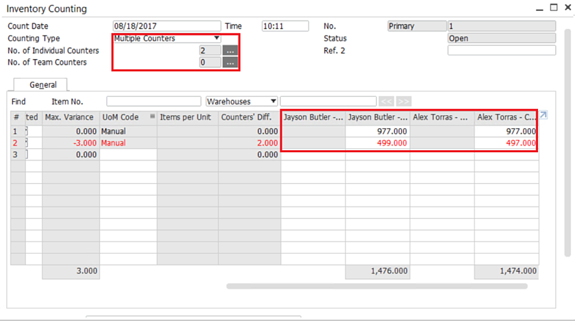 Tracking-the-Inventory-Counting-SAP-Business-One-–-3