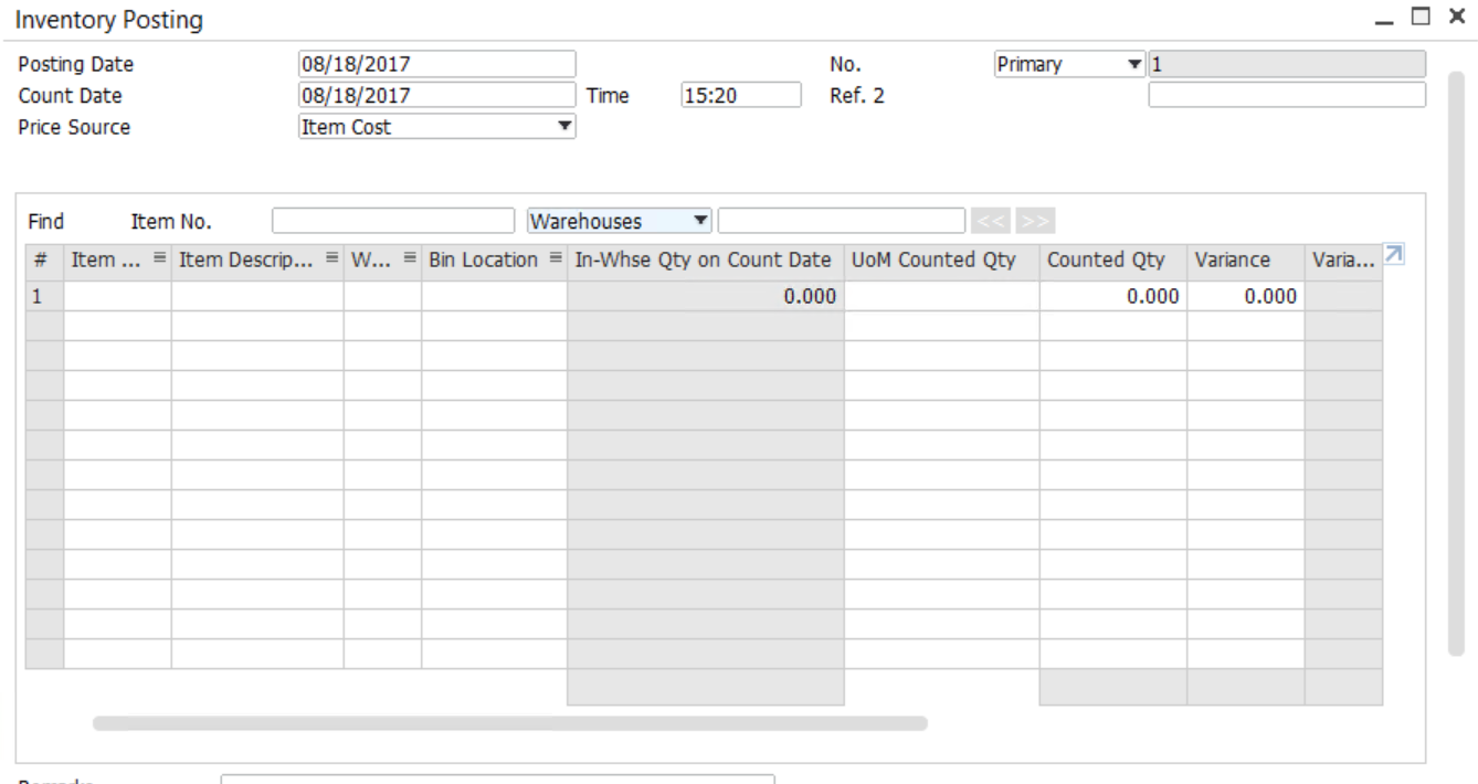 Tracking-the-Inventory-Counting-SAP-Business-One-–-4