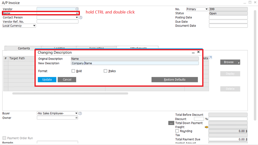 customize-your-tags-in-SAP-Business-One-1
