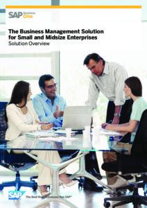 SAP Business One Brochure