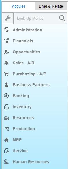 SAP Business One ERP Modules