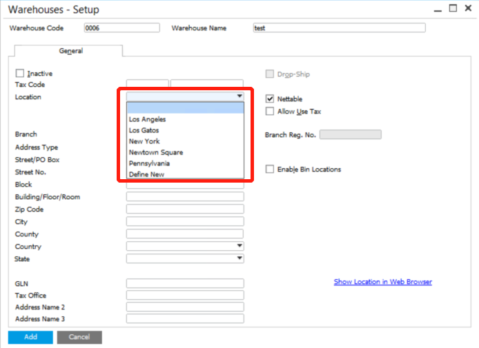 Setup-location-in-SAP-Business-One-2-2