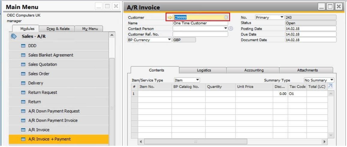 Support Spotlight Instant Payments Made Simple in SAP Business One 9.3!1