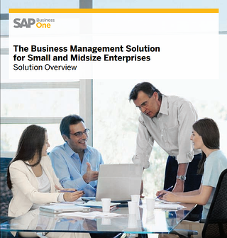 SAP Business One Solution Overview