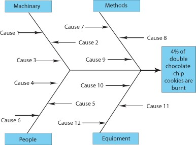 fishbone diagram (empty)