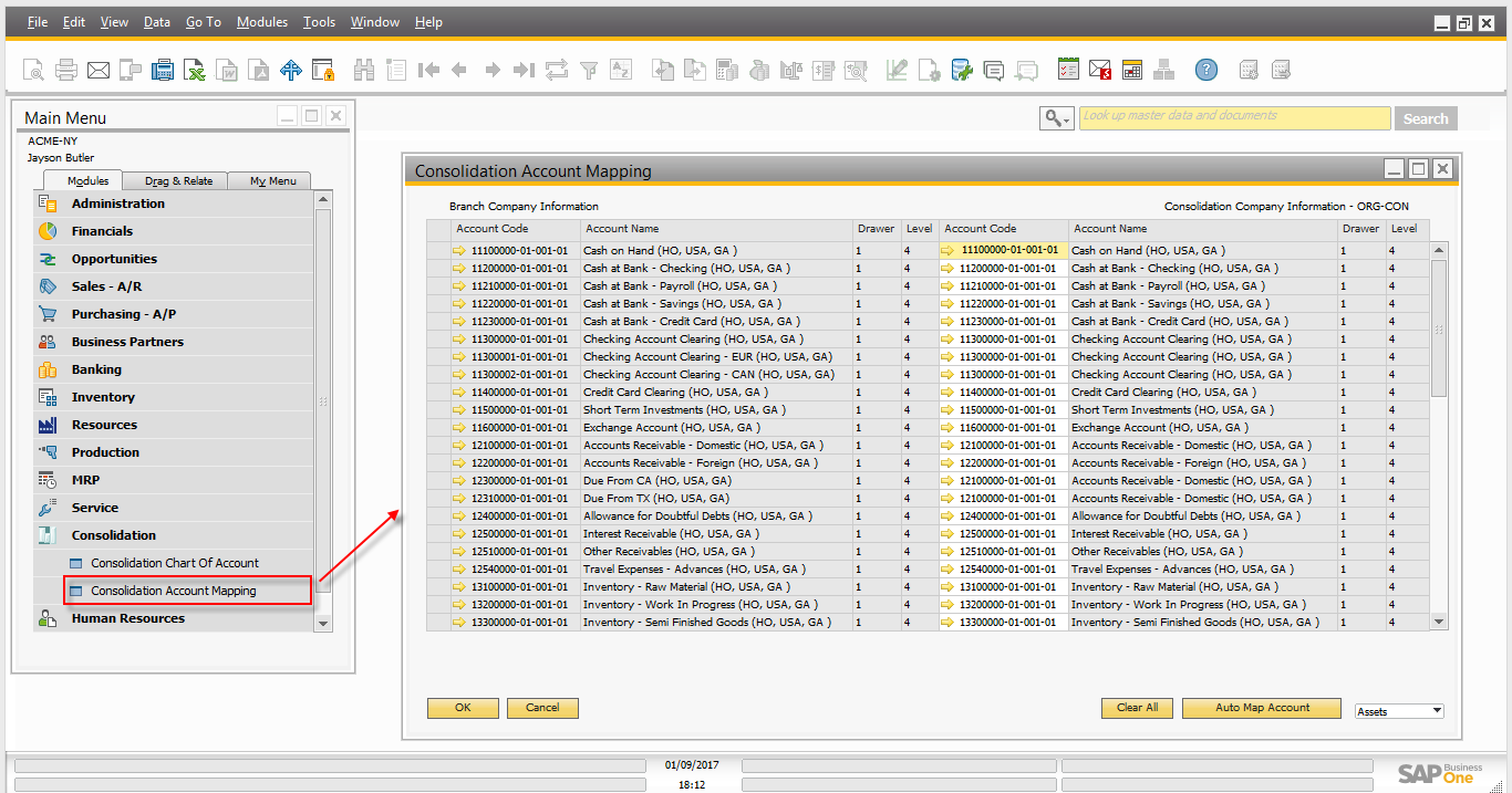 Intercompany integration solution for SAP Business One – Financial Consolidation10.png