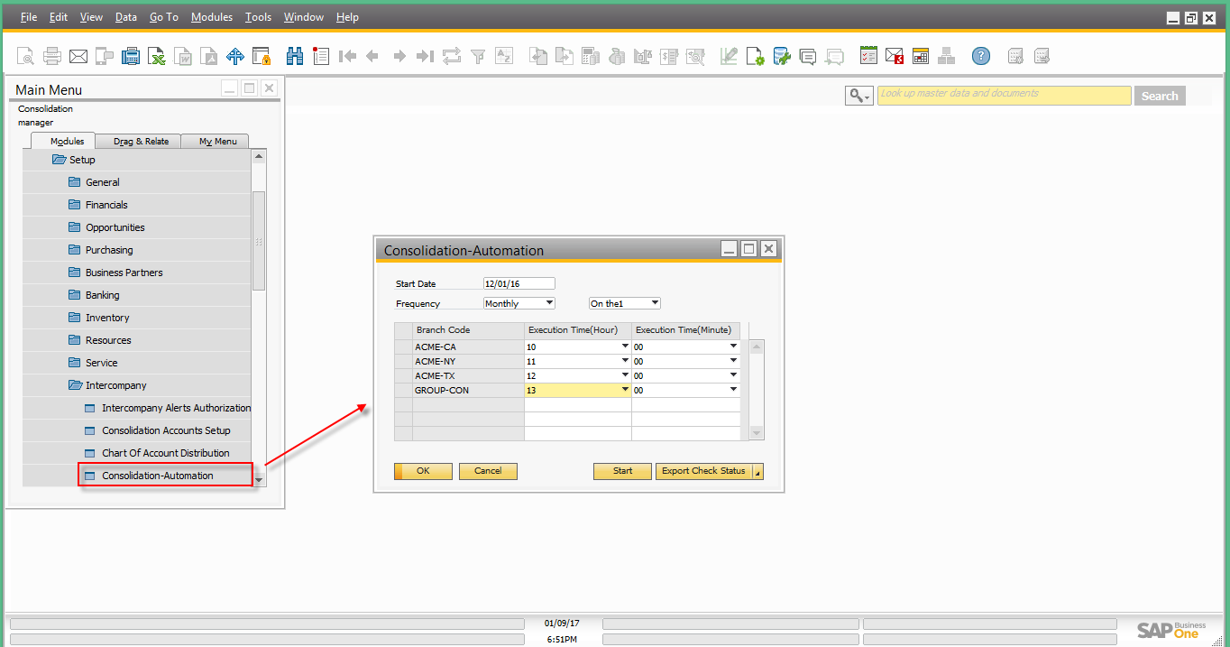 Intercompany integration solution for SAP Business One – Financial Consolidation12.png