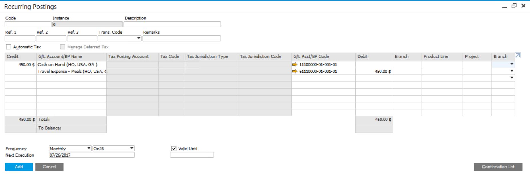 Recurring-Postings-in-SAP-Business-One-1