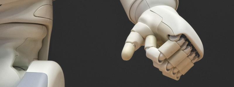 Robot hand AI