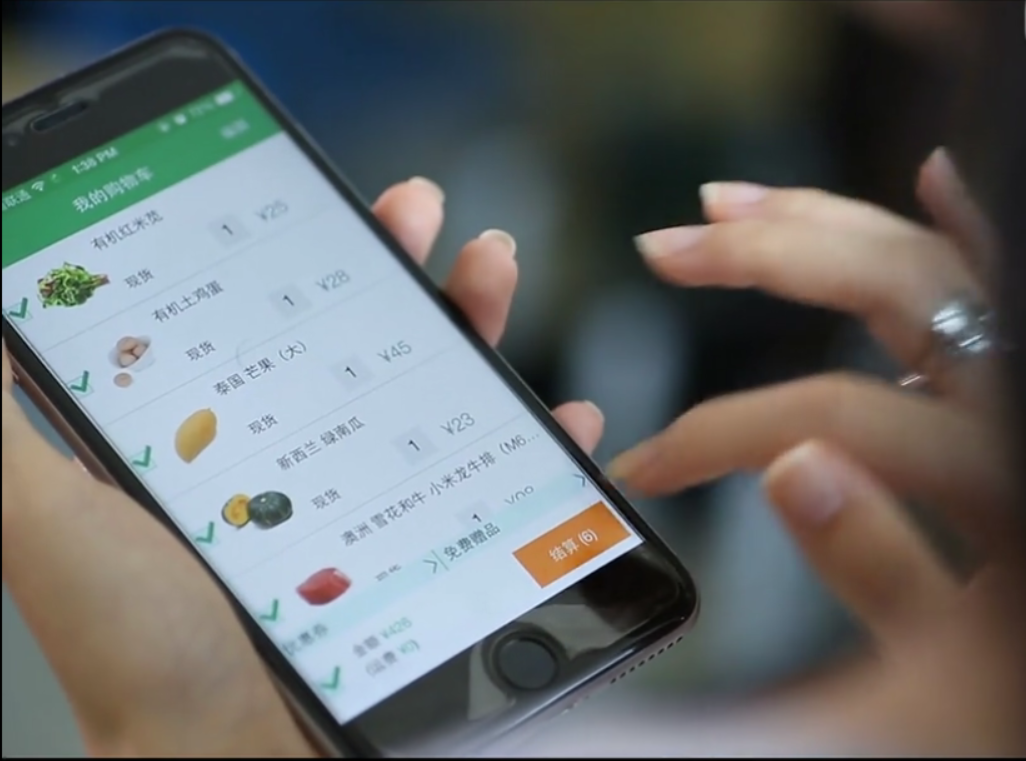 eCommerce Grocery iPhone App