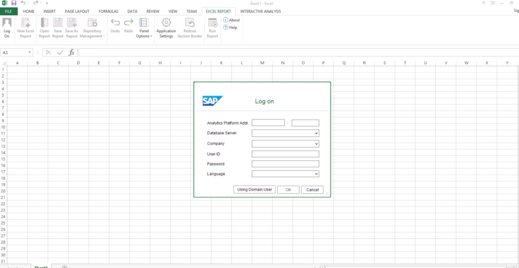 Excel Report in SAP Business One