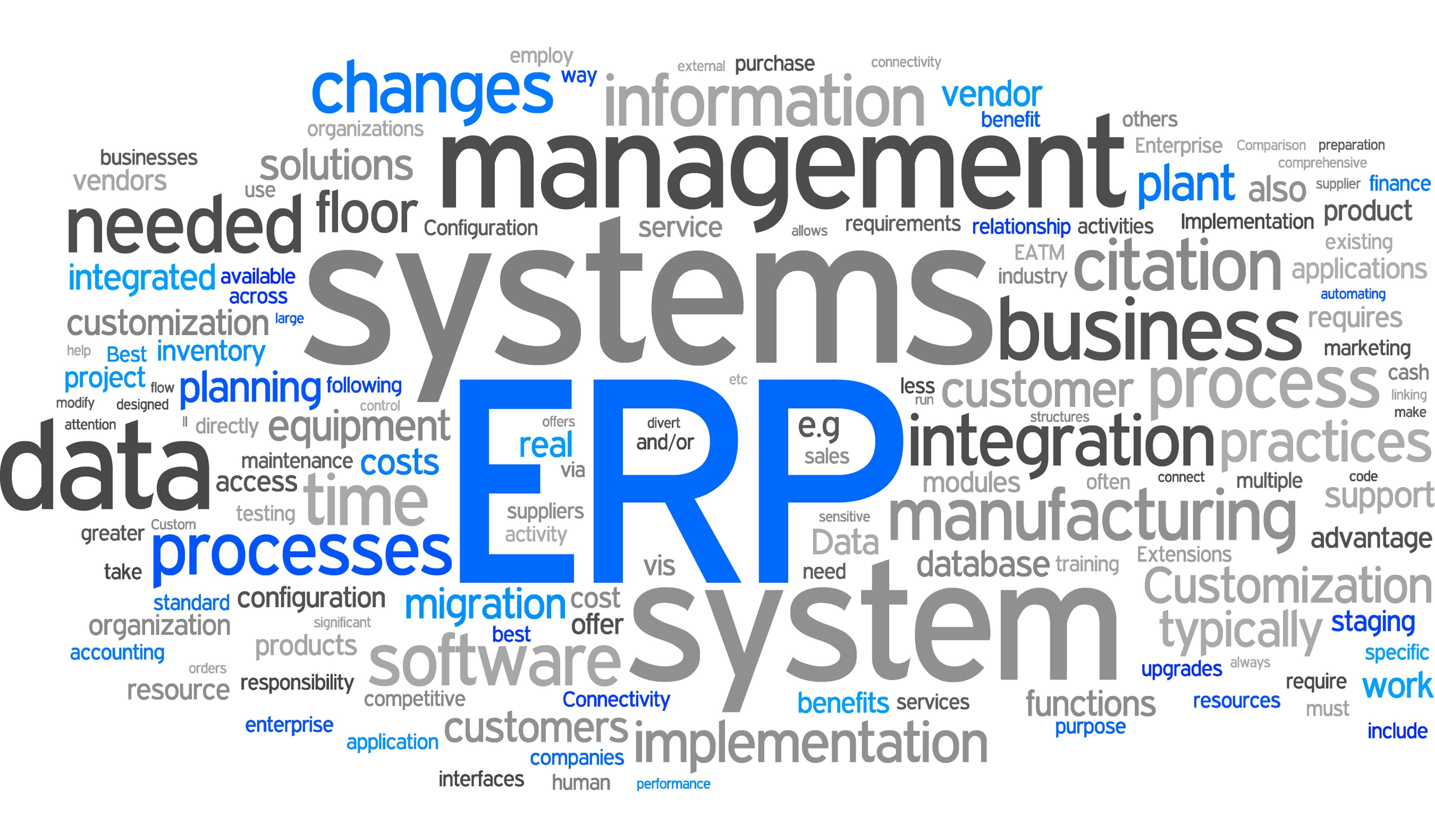 Top Functionality Needs of ERP Buyers