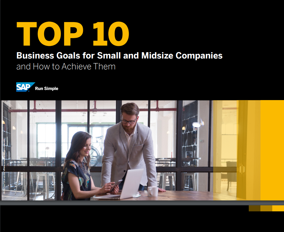Top 10 Business Goals for Small and Midsize Companies and How to Achieve Them