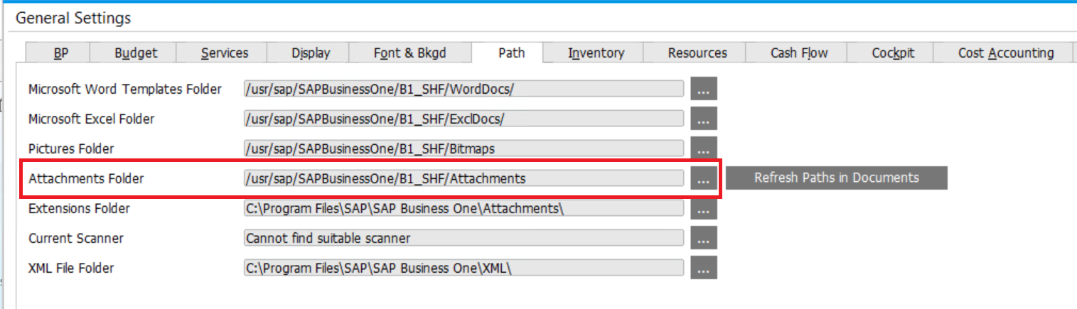 Manage Attachments in SAP Business One | SAP Business One